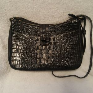 Brahmin Crocodile Shoulder Bag